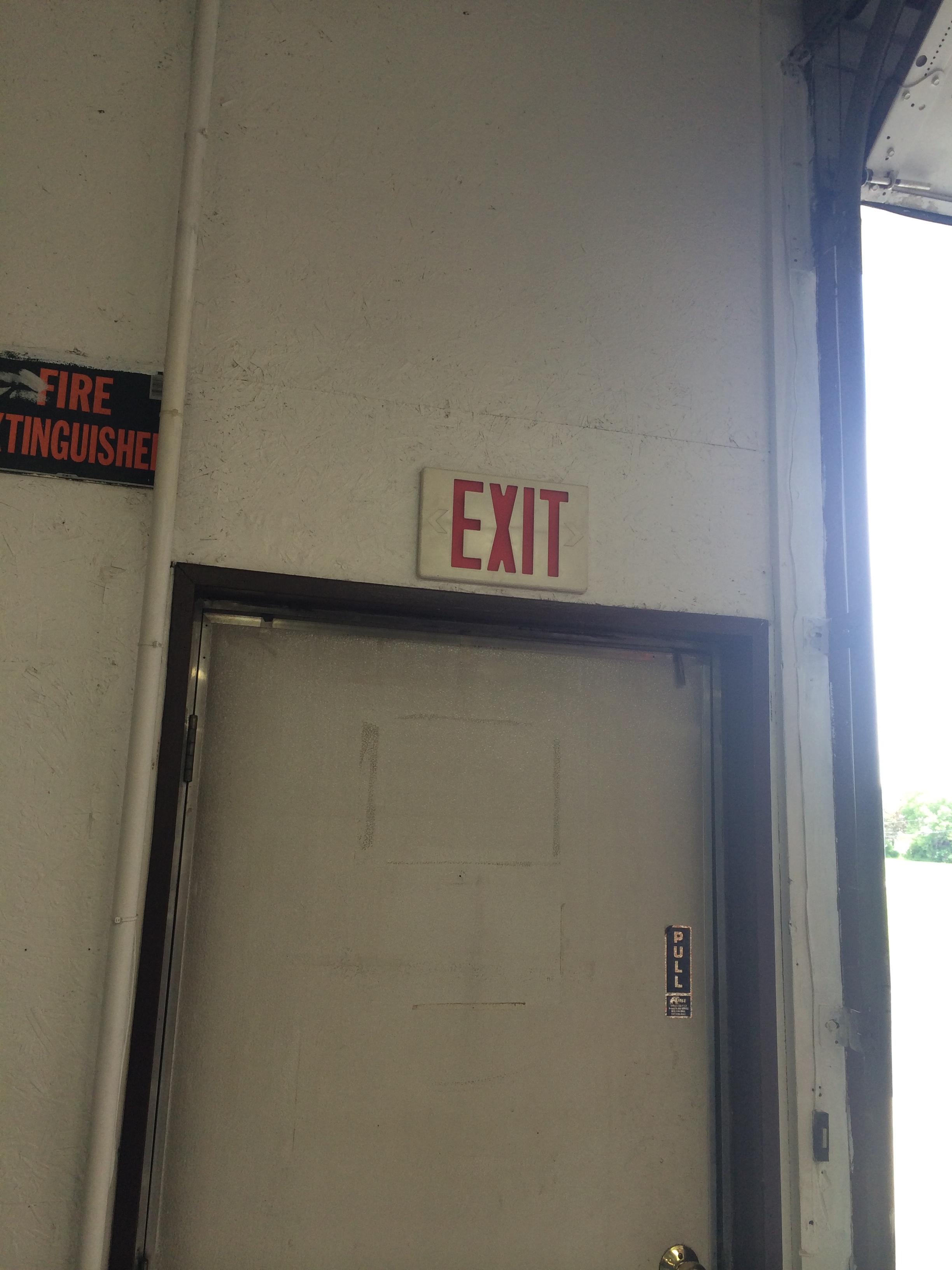 Commercial garage man door tri county garage door for Garage man door